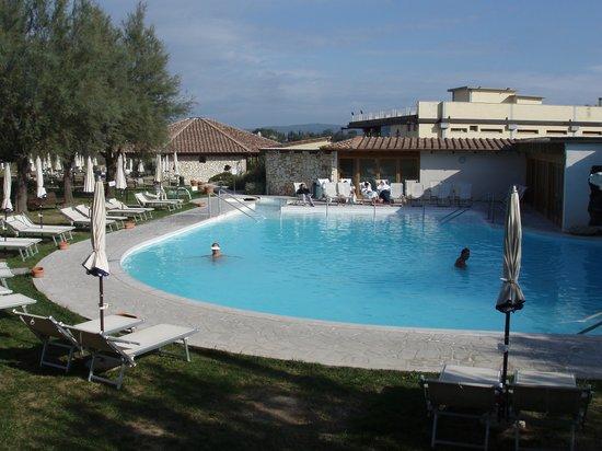 San Giovanni Terme Rapolano: la piscina