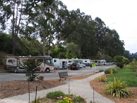 Side View To The Rv Park Picture Of Santa Cruz Harbor Rv
