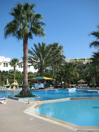 Hammamet Serail: The pool