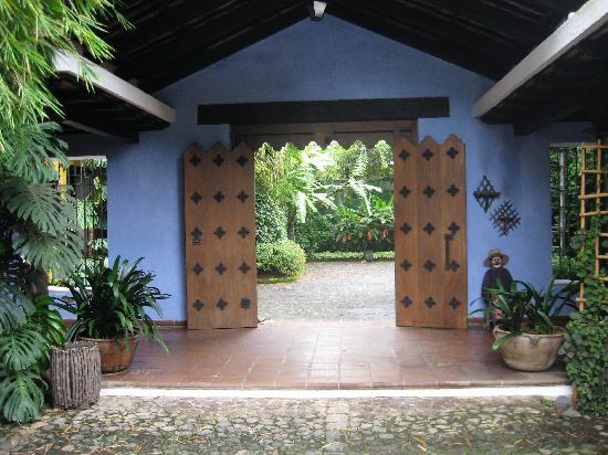 Quinta de las Flores: Entrance