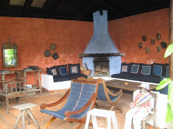 Quinta de las Flores: Sitting area