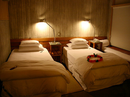 explora Rapa Nui: Beds in Hotel Room