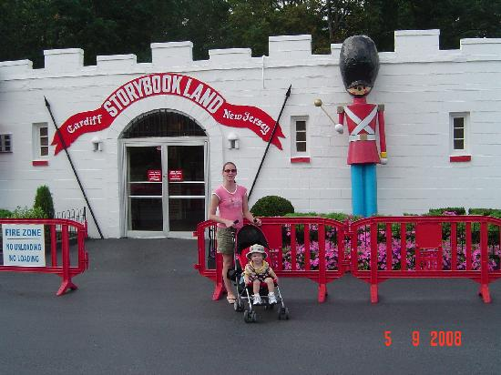 Storybook Land: park entrance