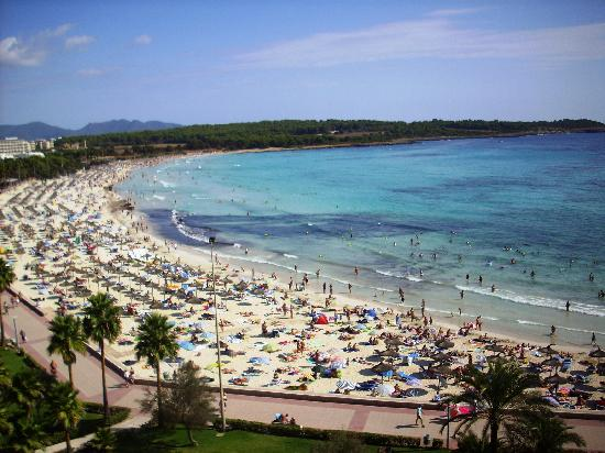 Hipotels  Mediterraneo : playa del hotel
