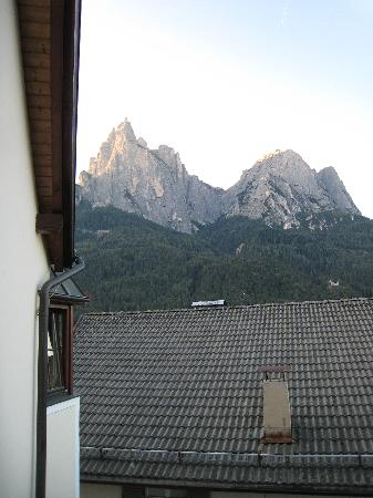 NaturResidence Dolomitenhof: View from the balcony