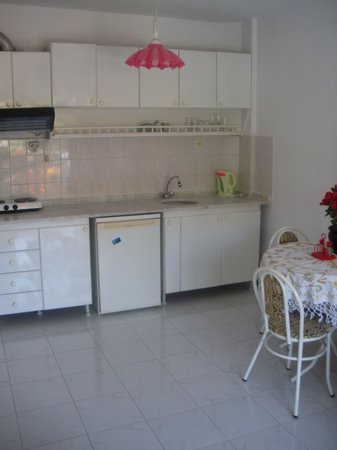 Oren Apart Hotel: Kitchen area