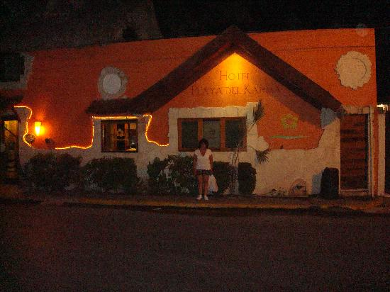 Hotel Playa del Karma: Quiet night