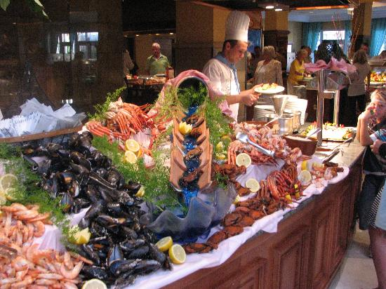 Hipotels Barrosa Park: Gala night in the restaurant