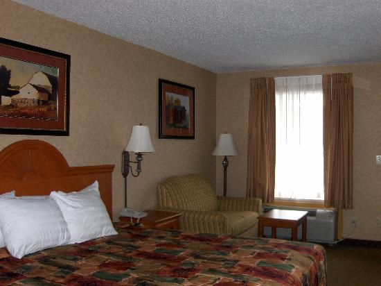 Best Western Inn: Very comfortable room