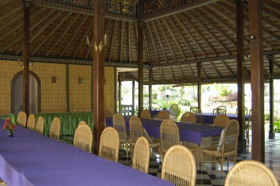 Toraja Prince Hotel: Dining area