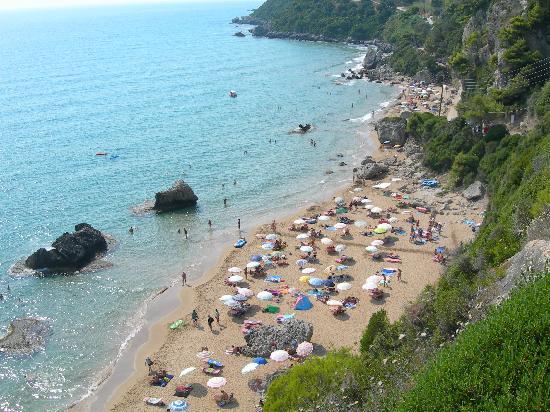 Plage de Mirtiotissa : Mirtiotissa spiaggia