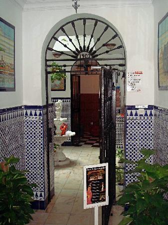 Pension Virgen de la Luz : ingresso
