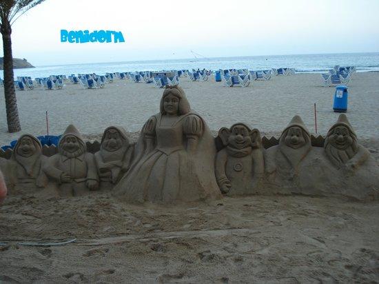Hotel Helios Benidorm: La plage