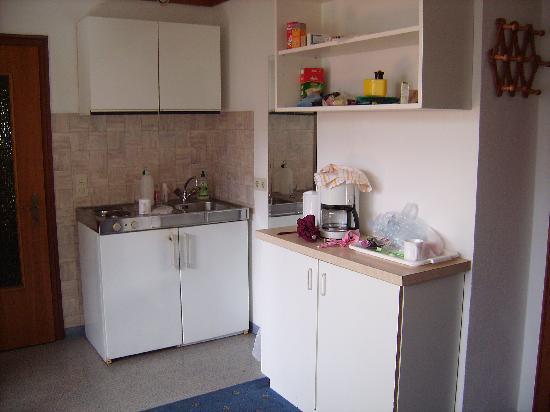 Landhaus Roscher: The kitchen area