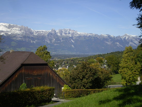 Pic taken next to Vaduz Castle