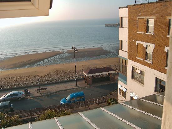 The Ocean Hotel: View from bedroom window