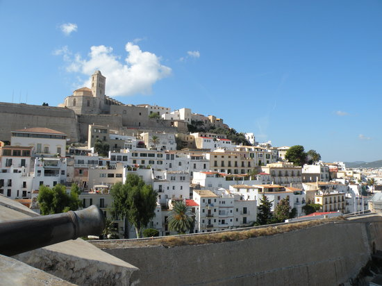 Ibiza Town, Spain: Another view