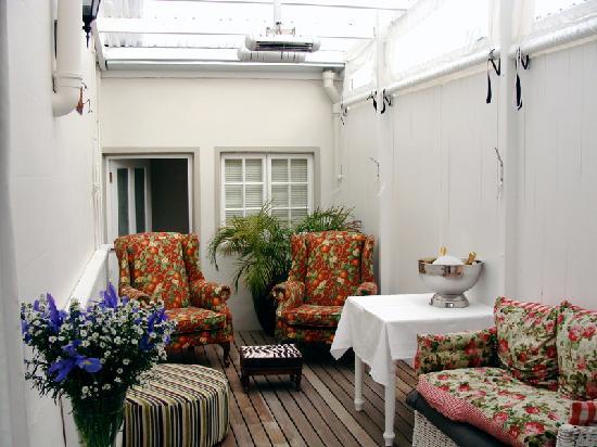 Blackheath Lodge : Lovely lazy sun lounge