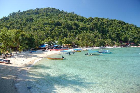 Pulau Perhentian Kecil, Malasia: The beach