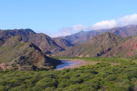 Cafayate, Argentina: Camino a Cayafate