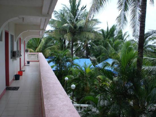Dona Crispina Resort and Hotel: View from one of the Rooms