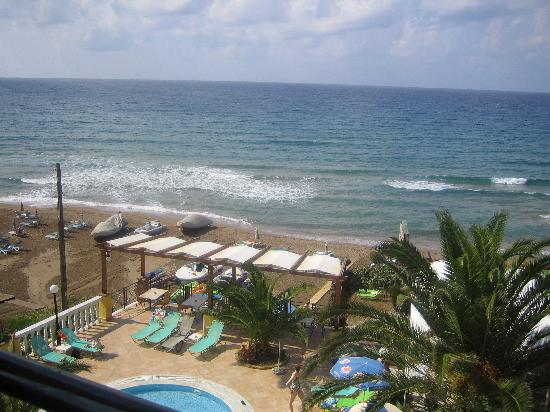 Sea Breeze Family Beach Hotel: View from our balcony