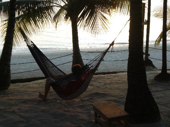 Island Pearl: Relaxing in the Hammock