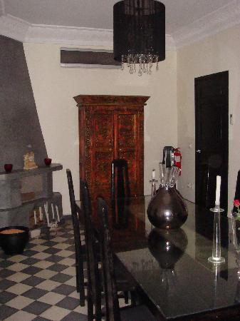 Riad Elizabeth: Dining Room