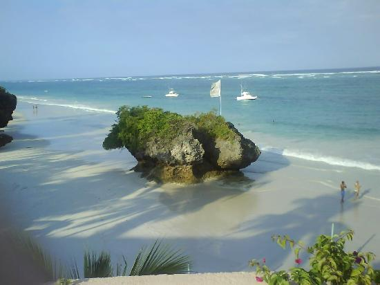 Outside the Leopard Beach Resort, Diani Beach