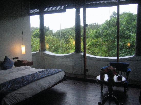 Le Dupleix: Room on the top floor