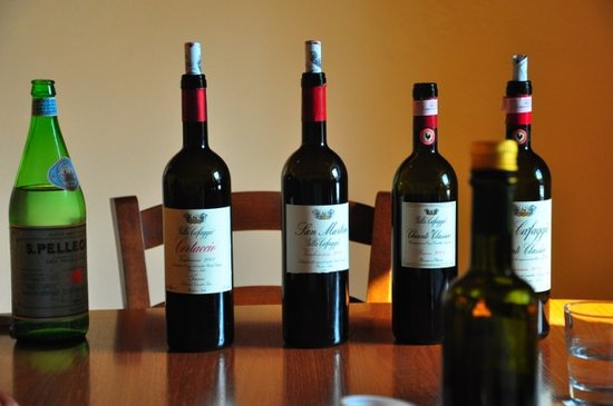 Wine Tours with Italy and Wine: Tasting time at Villa Cafaggio