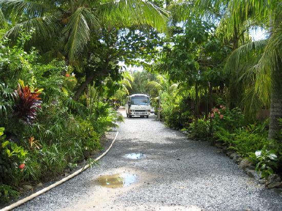 Anthony's Key Resort: Resort Entrance