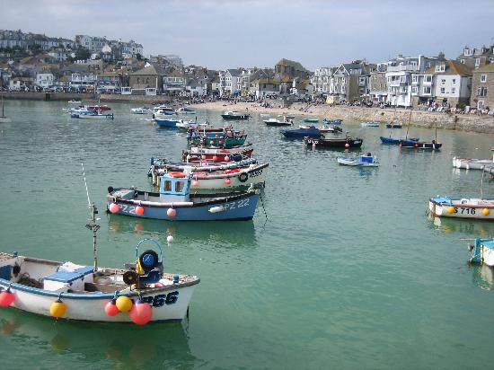 The Old Count House: St. Ives Harbor