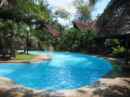 Alona Tropical Beach Resort: The Pool Area