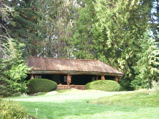 Ohme Gardens: Totem Pole Lodge