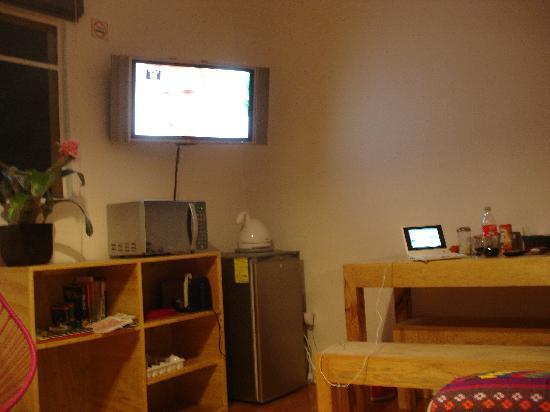 Hostal Condesa: living area 2
