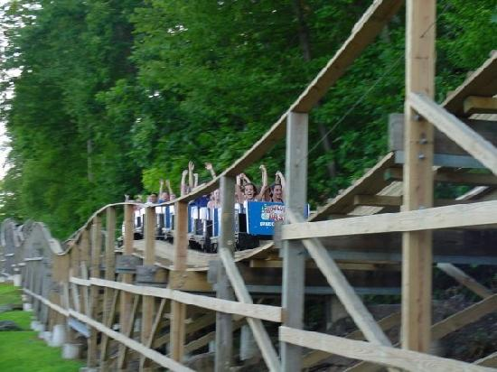Lake Compounce: Boulder Dash roller coaster