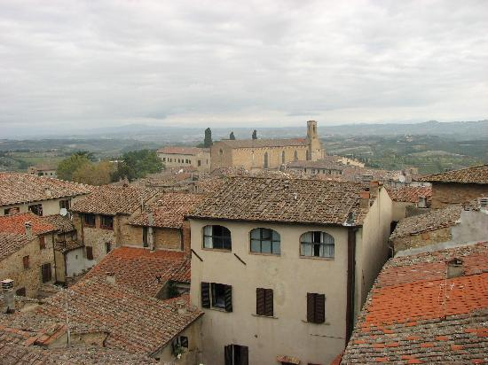 Locanda La Mandragola: the view from the balcony 2