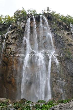 Plitvice Lakes National Park, Croatia: Veliki Slap