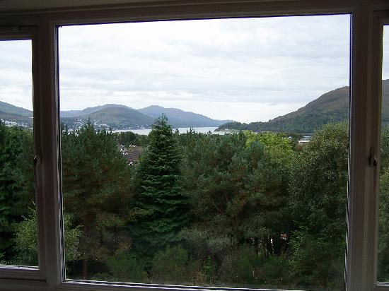 Braeburn Guesthouse : view from bedroom
