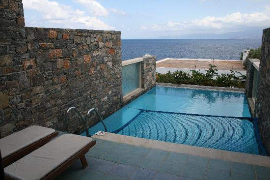 Elounda Peninsula All Suite Hotel: Private pool