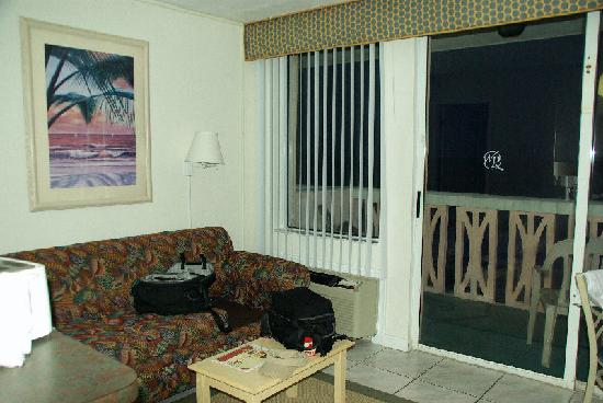 Harbour Beach Resort: livingroom