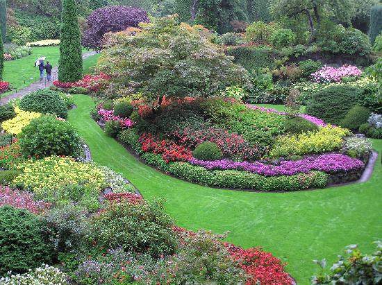 The Butchart Gardens : in the Quarry Garden
