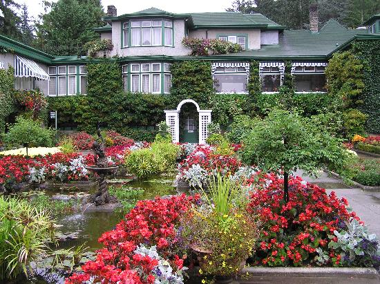 Butchart Gardens : in the Italian Garden