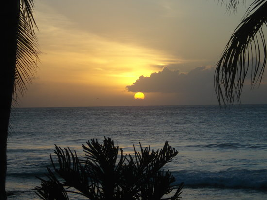 Trinidad und Tobago: View from Beach at hotel