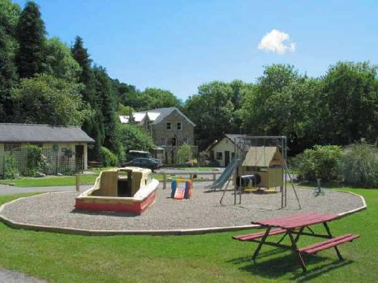 Stepaside, UK: Caravans for Hire, Touring & Camping in grounds of the old Mill