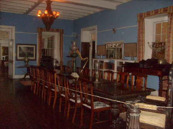 Greenwood Great House: the dining room