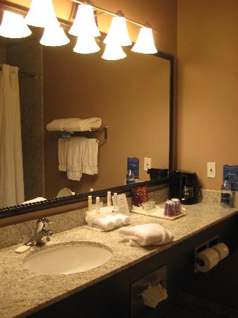 Holiday Inn Express Medford: bathroom