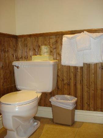 Hotel Acadia: small bathroom