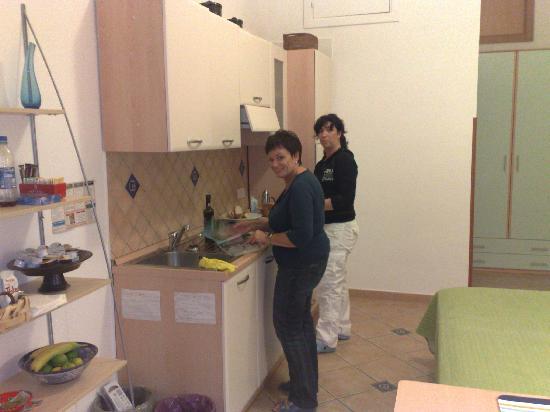 Casa Sorrentina: Cucina